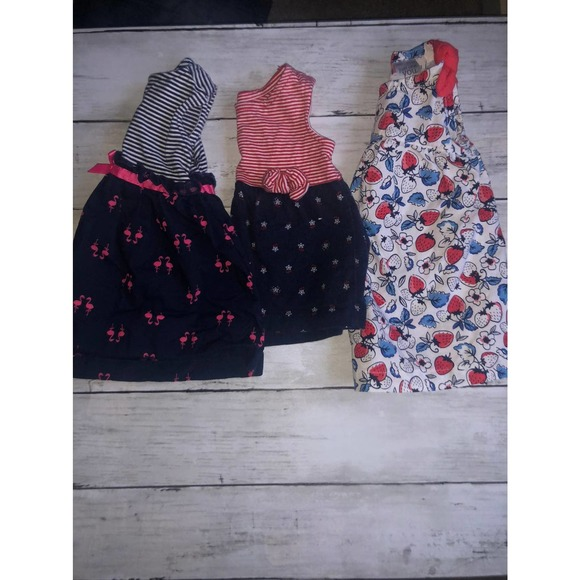 Bundle of 3mo carters dresses